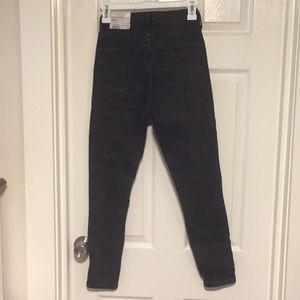 Jamie high waist ankle grazer jeans